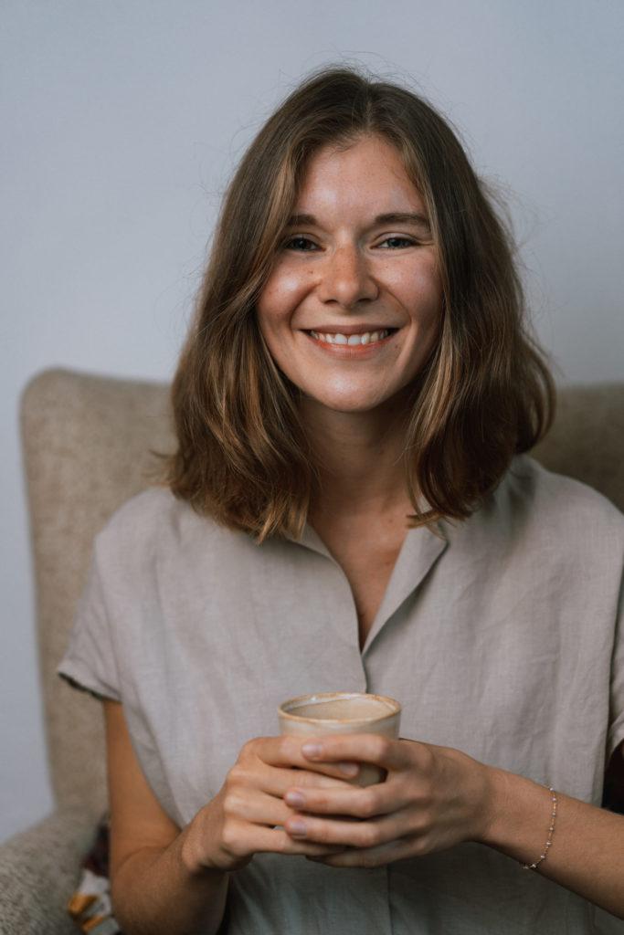 Anne Weiss, Kiel, Podcast Frag Anne.  © Lasse Schneppenheim